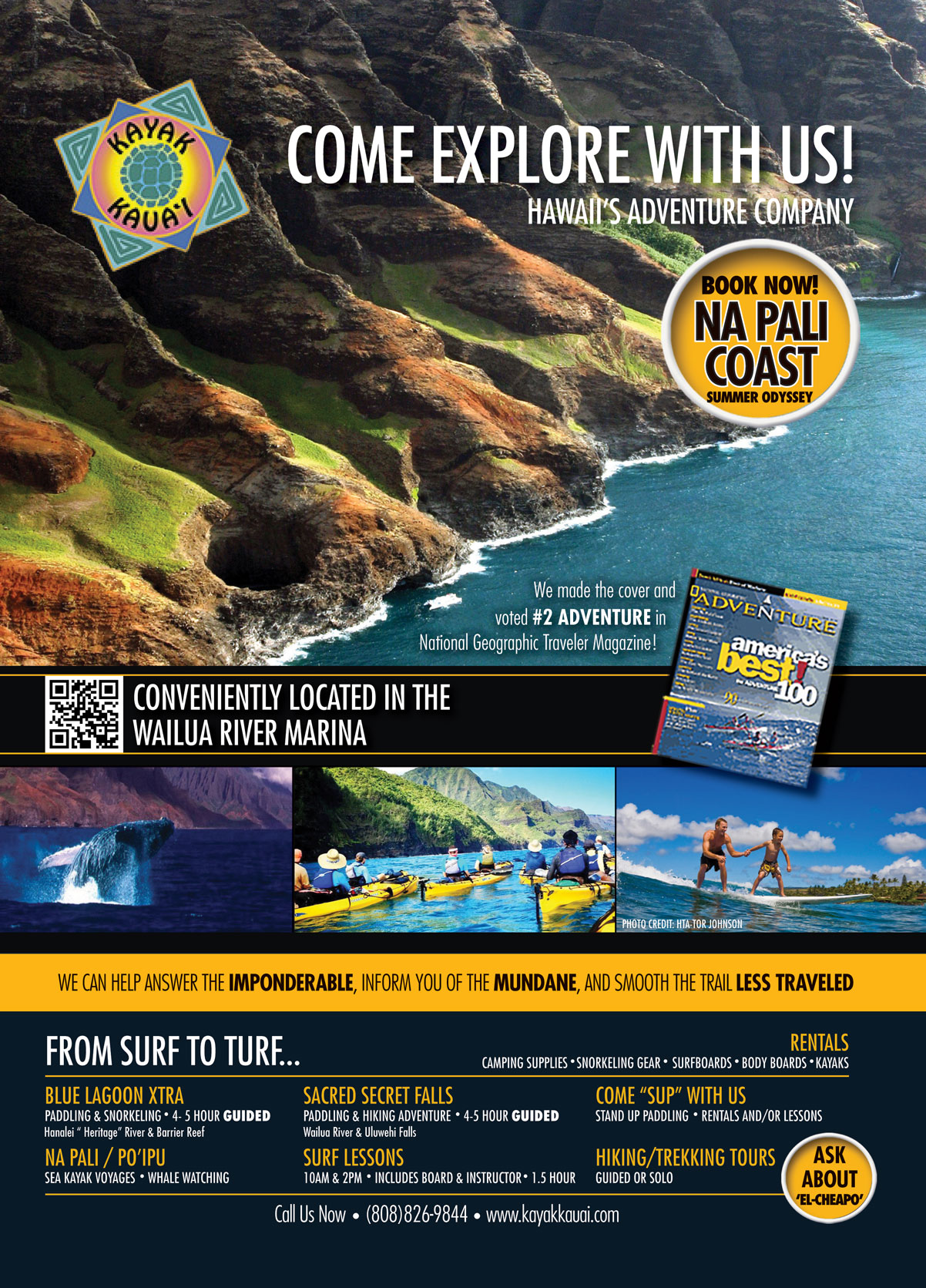 Kayak-Kauai